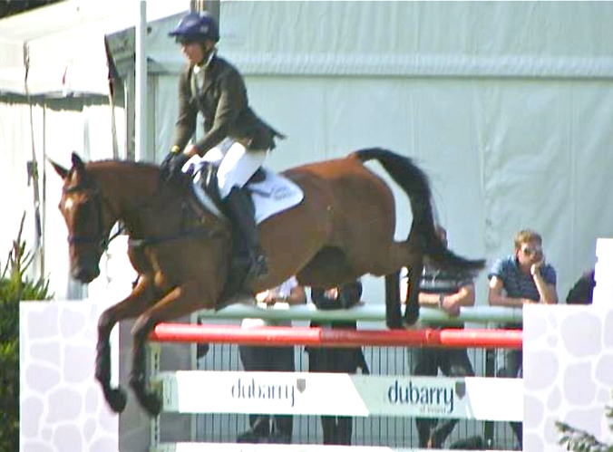 Burghley young Event Horse Finals Jumping Phase